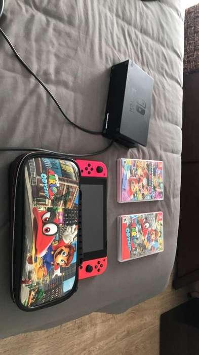 Nintendo Switch Como Nuevo