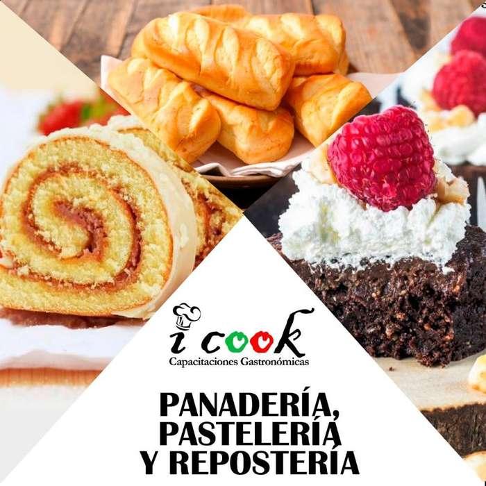 Curso de Panadería, Pastelería Y Reposte