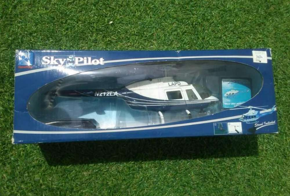 Helicoptero a escala, metálico NUEVO Sky Pilot