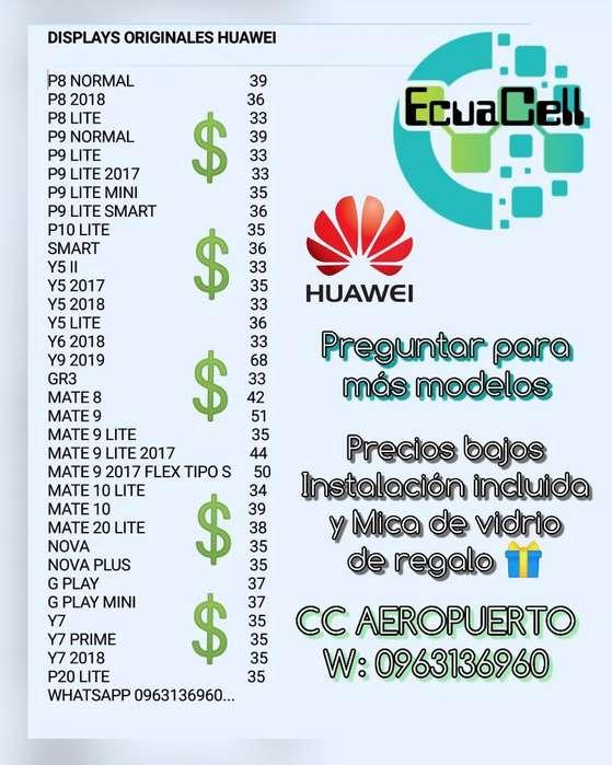 Display Huawei Originales en Promoción