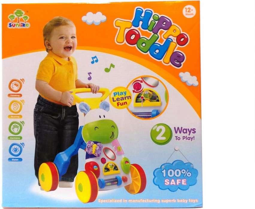 Caminador Andador Musical Luces Bebes Niños Niñas