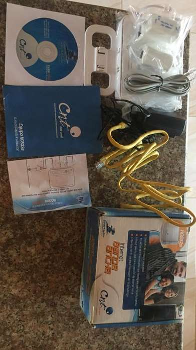 Router Cnt Banda Ancha Nuevo
