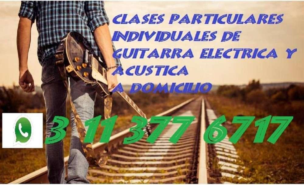 CLASES DE BAJO Y GUITARRA A DOMICILIO, JAZZ, IMPROVISACIÓN, BLUES
