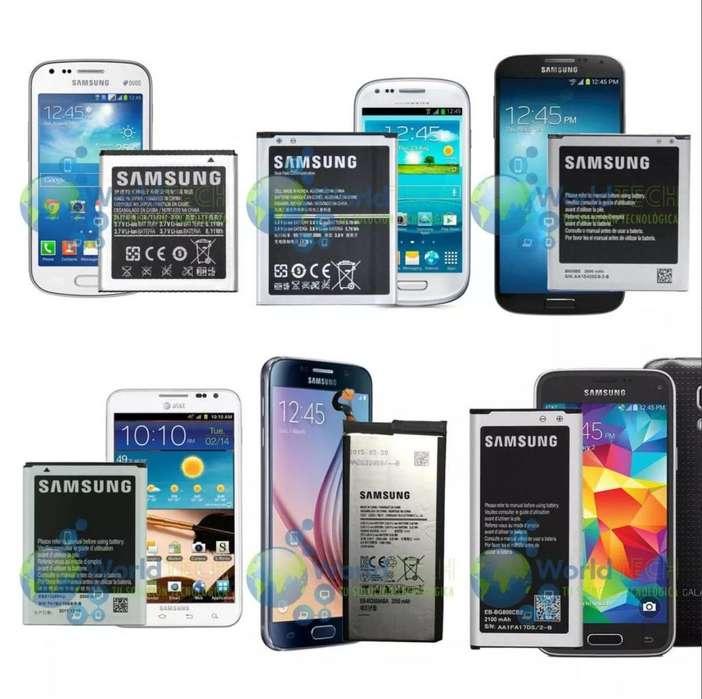 Bateria Samsung S2 S3 S4 S5 S6 S7 S8 S9 Mini Note 3 4 5 A J5