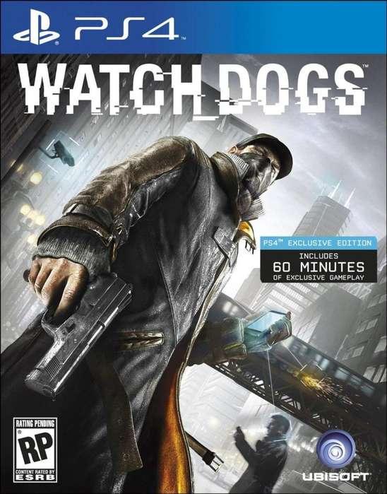 Watch Dogs- Nuevo PS4