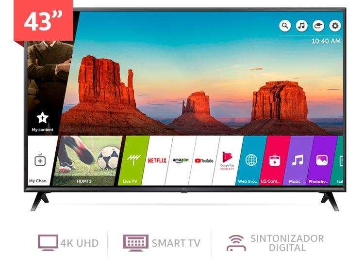 TV LG 43 UHD4K SMART TV