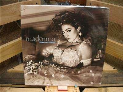 LongPlay Disco Acetato Lp Vinilo Pasta Vinyl Madonna Like A Virgen