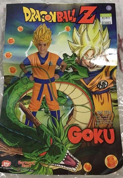 Disfraz Goku como nuevo talla 12