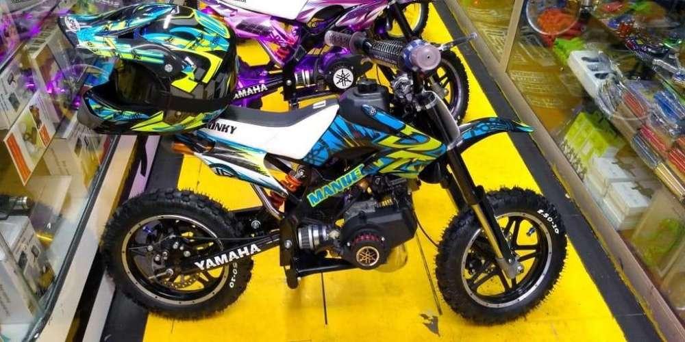 Minimotos para Niños Motor 49cc