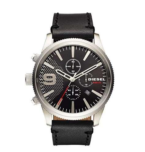 ad8e06ed4872 Reloj Diesel Hombre DZ4444 Color Face y correa Negro. Caja  Gris