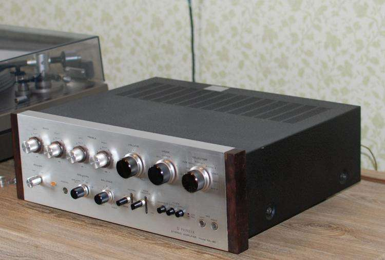 Pioneer amplificador sansui technics