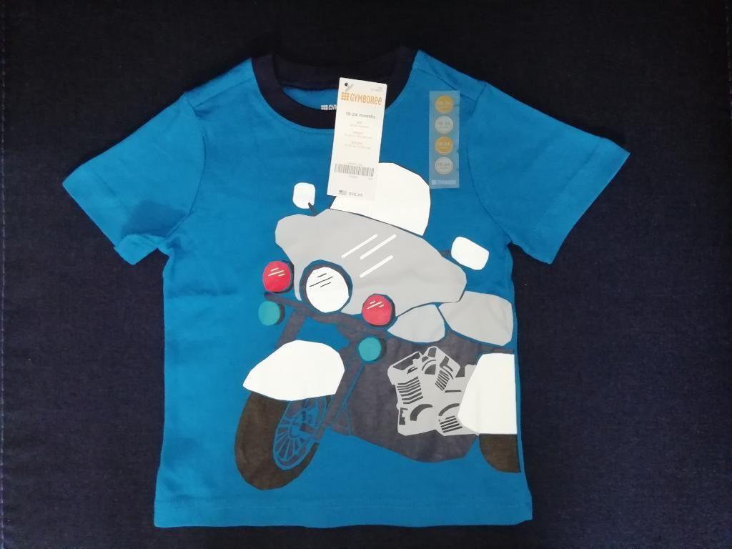 Camiseta Gyboree Moto