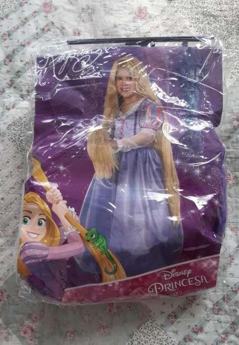 Disfraz Rapunzel Talla8 Solo Una Postura