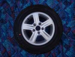 Neumatico importado y llanta aleación p/ Hyundai i30