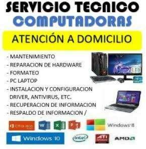 Servicio tcnico de computadoras a domicilio Juliaca
