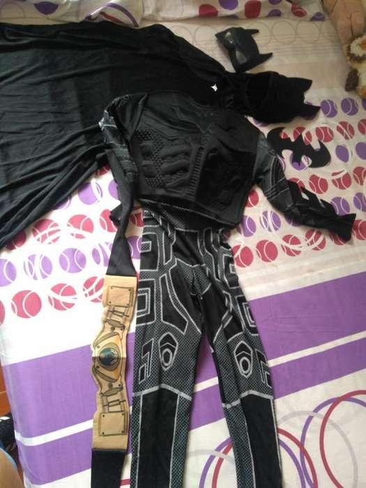 Disfraz de Batman para Niño de 8 Años