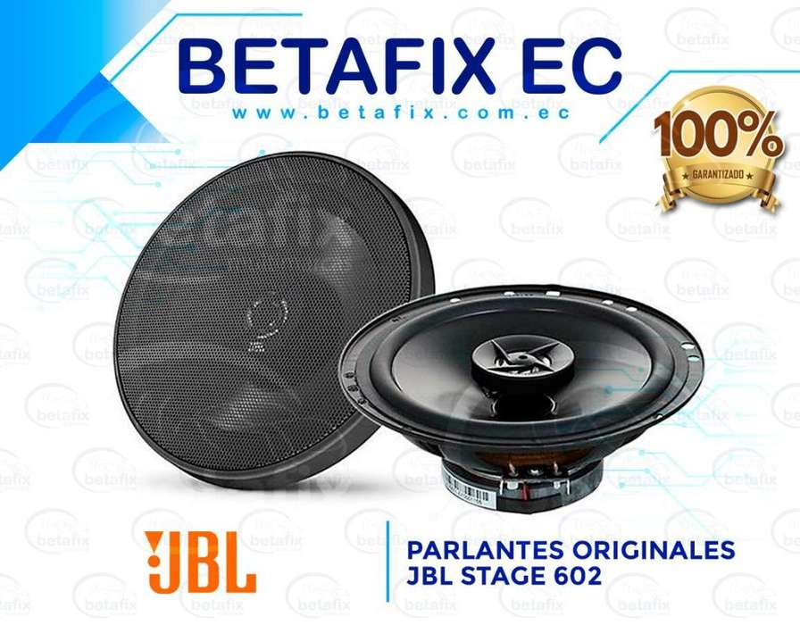 PARLANTES ORIGINALES JBL STAGE 602 135W 6.5