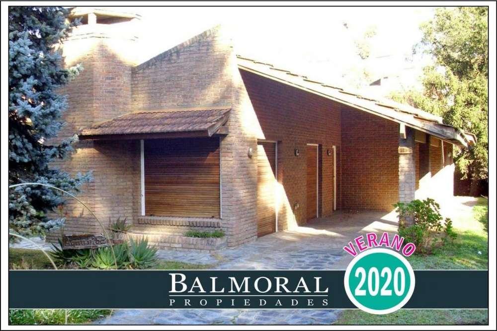 Ref: 8645 - Casa en alquiler, Pinamar, Zona Duplex