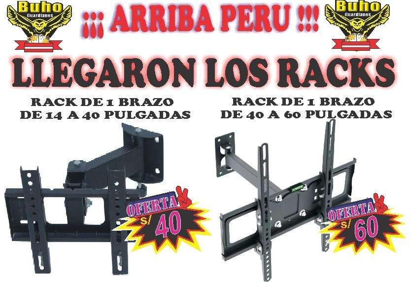 RACKS DE TV PARA TODOS LOS TAMAÑOS