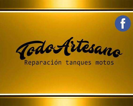 REPARACION TANQUES DE MOTOS ARENADOS