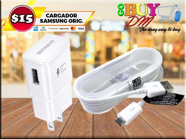 Cargador Samsung Original Carga Rápida Cable 1.5 Metro