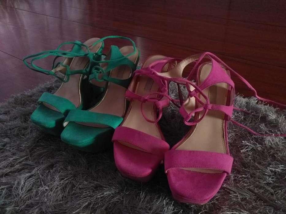 Zapatos Italianos,talla 39,los 2 A100mil