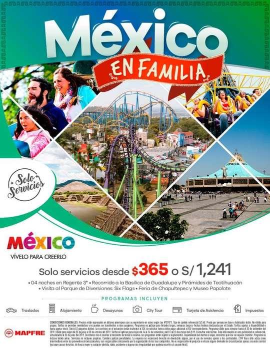 Oferta de viaje a Mexico insuperable , salida desde Lima