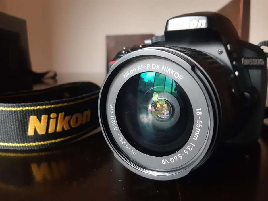 Camara Réflex Dslr Nikon D5300 18-55 35m