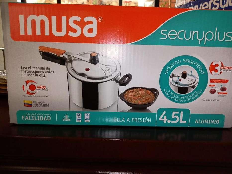 Olla a Presiin Imusa Securyplus 4.5litro