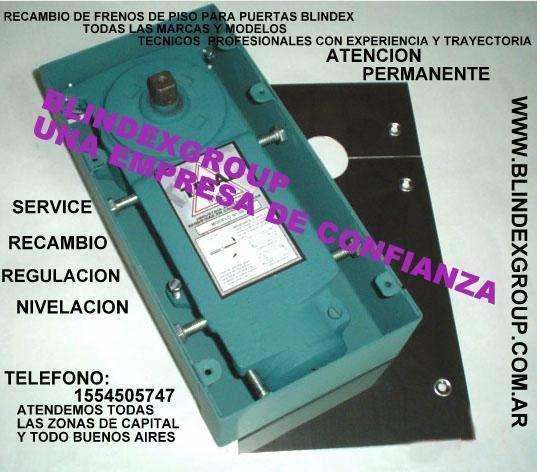 FRENOS DE PUERTAS BLINDEX TE: 1554505747. LEGITIMOS