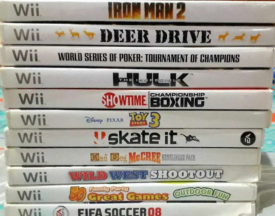 Discos para Tu Nintendo Wii Y Accesorios