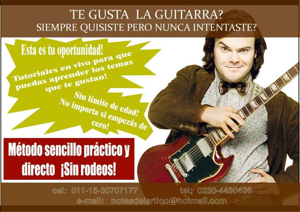 0111530707177 Clases de guitarra en Pilar