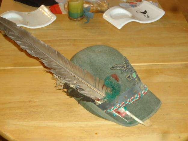 Sombrero Alpini Italiano original.
