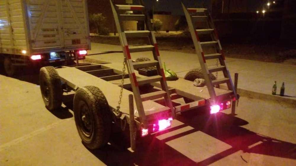 Carreta Para Minicargador Sh5000- Reforzadas - NUEVO