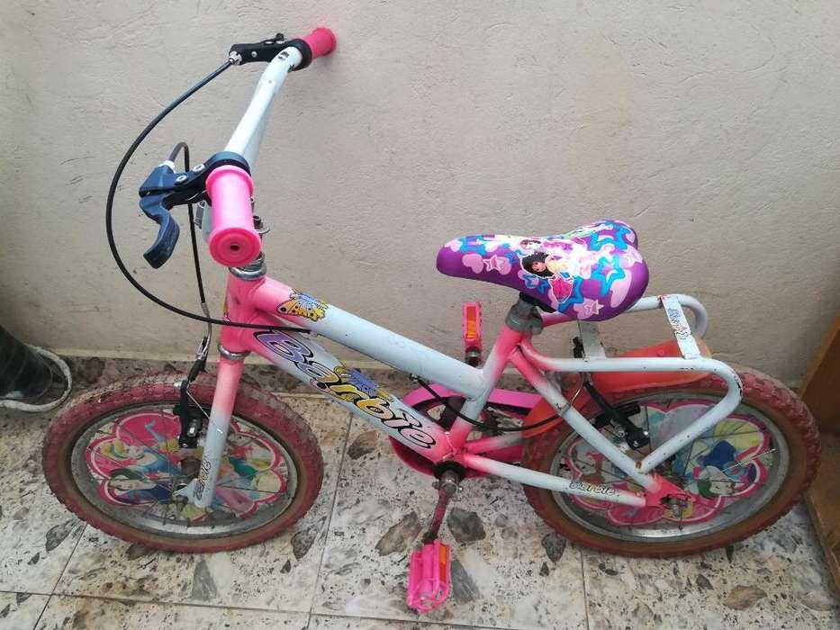Bicicleta Niña Barbie Rin 16