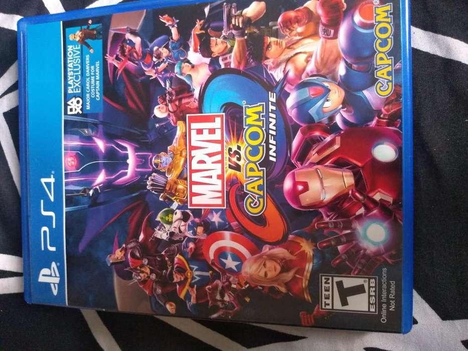 Marvel Vs Capcom Play 4 Usado