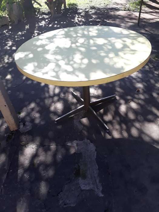 mesa redonda para comedor
