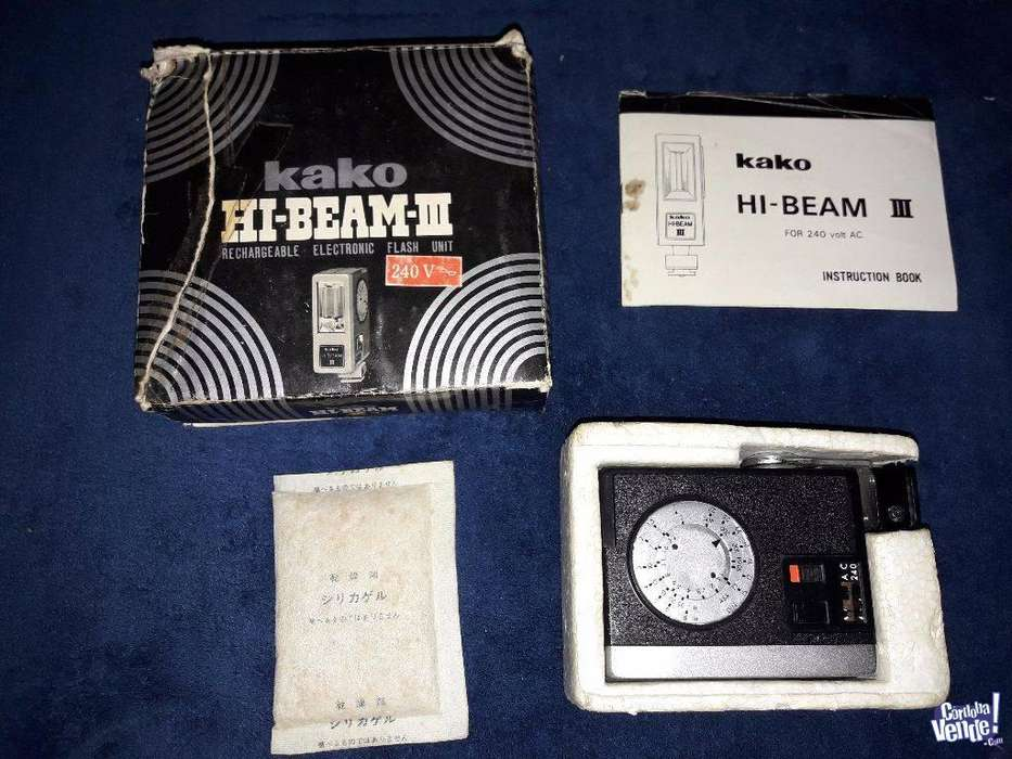 Flash Kako HiBeam III. Perfecto estado