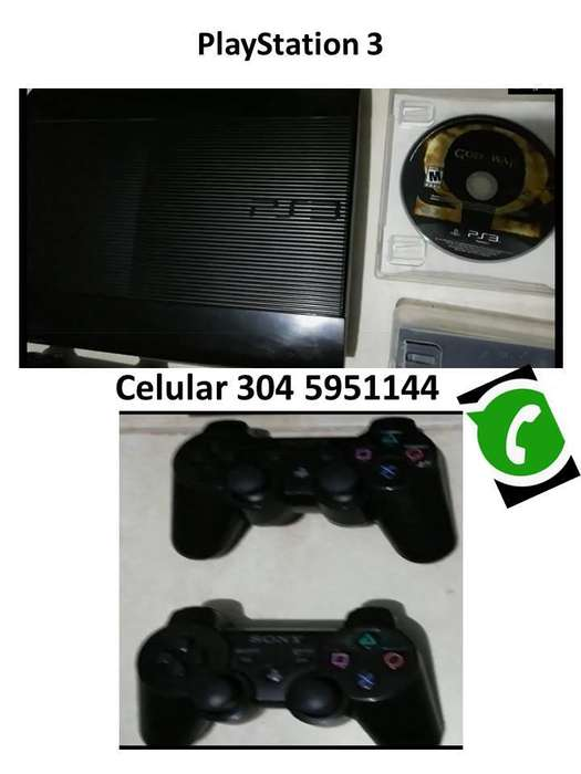 Play Station 3. Original. Con 5 Juegos, 2 Controles
