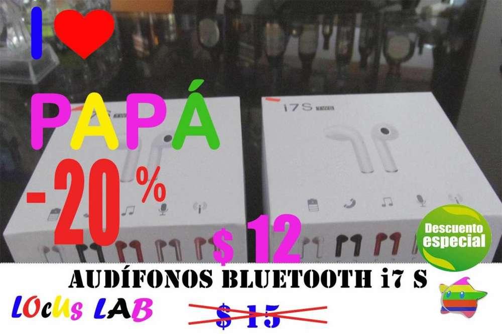 AUDIFONO BLUETOOTH 4.2 i7 S TWS