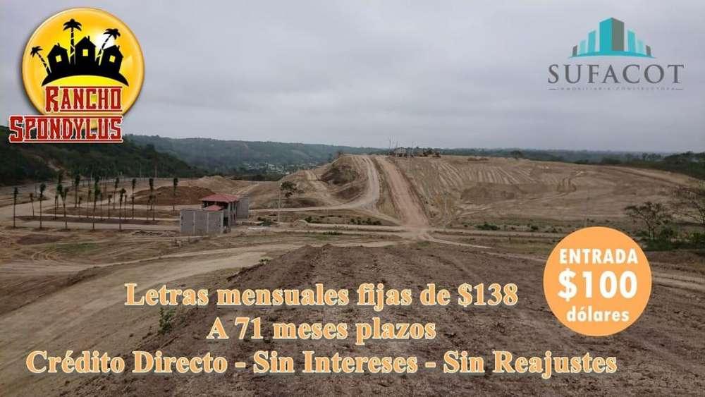 TERRENOS EN VENTA DESDE 1000 M2 PARA SU CASA DE <strong>campo</strong> CON 100USD DE ENTRADA / SD3