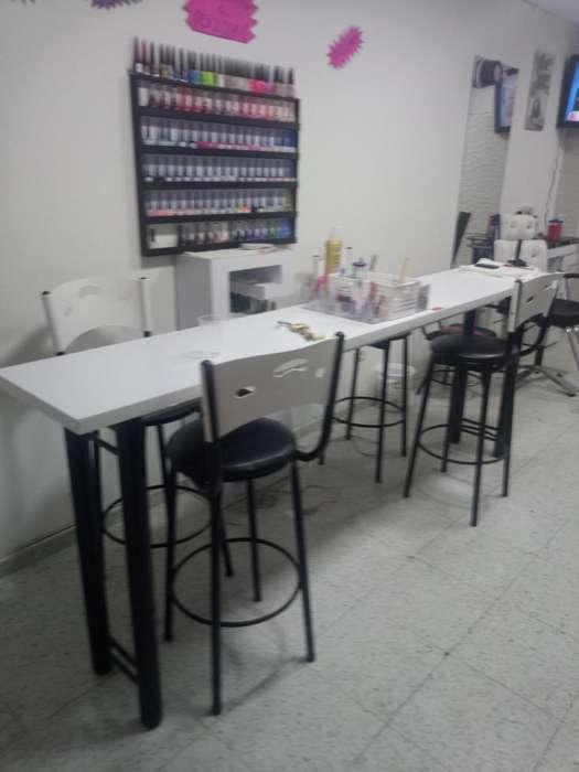 muebles de peluqueria buen estado