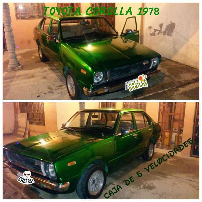 Toyota Corolla 1978 - 90000 km