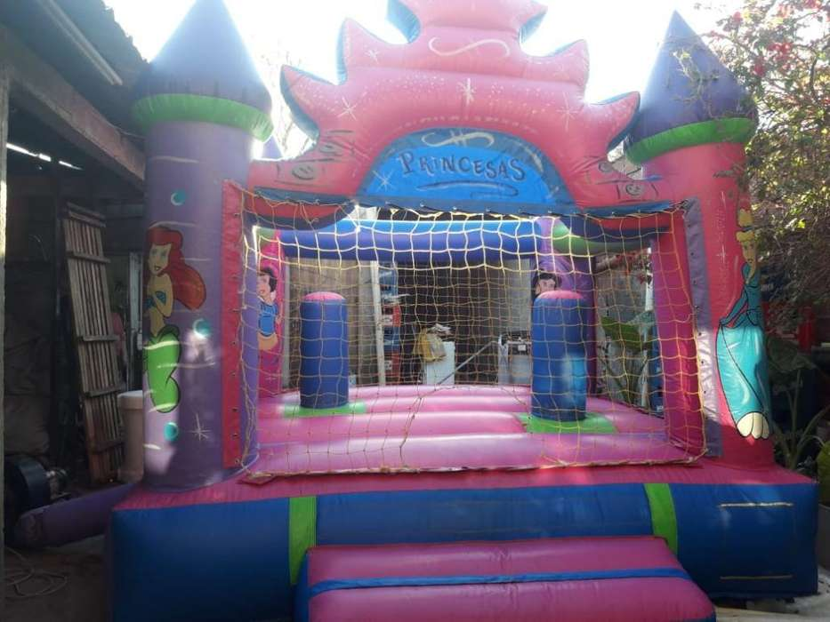 Castillo Inflable de Princesa