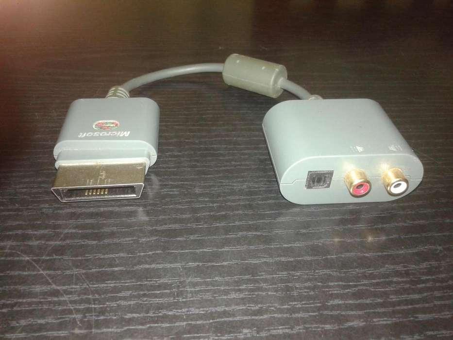 Cable Adaptador Audio para Xbox 360