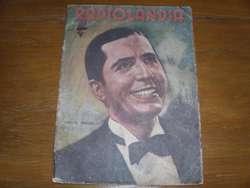 Gardel Carlos Revista Radiolandia Año 1939