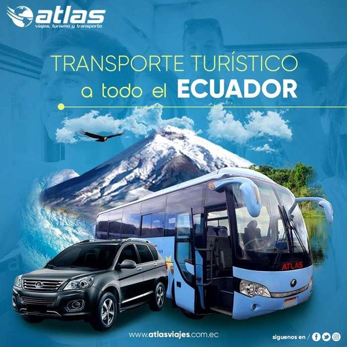 Transporte Turístico de alquiler en Quito, Guayaquil, Cuenca, Ecuador