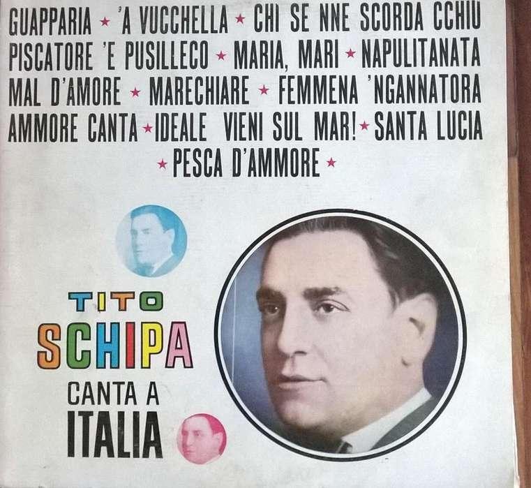 VINILOS DE TITO SCHIPA