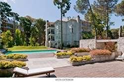 En Carilo, complejo Cilene Centro departamentos de 3 ambientes en venta con rentas temporareas