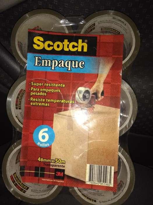 Cinta Scoth Embalaje X 6